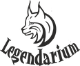 Логотип питомник мейн кунов Легендариум