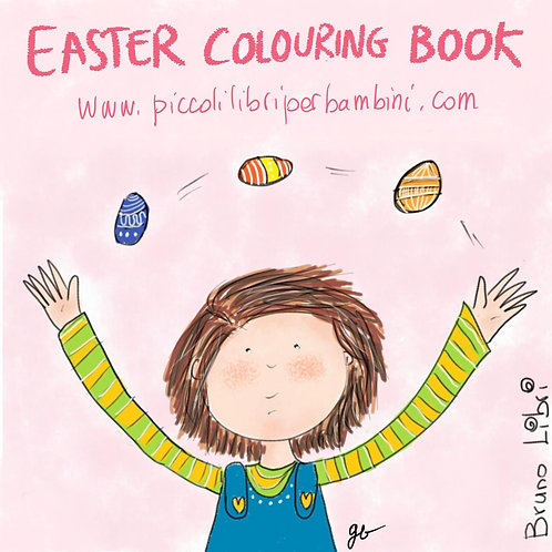 Easter Colouring Book (free download)