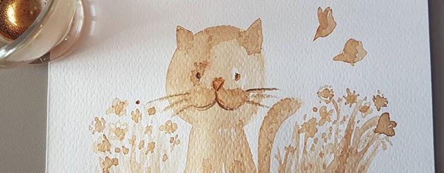 Un gatto di caffè #coffee #stargatto #pa