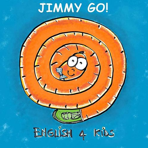 Jimmy Go! Libro di inglese per bambini