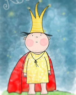 Un piccolo Re per una grande favola #ill