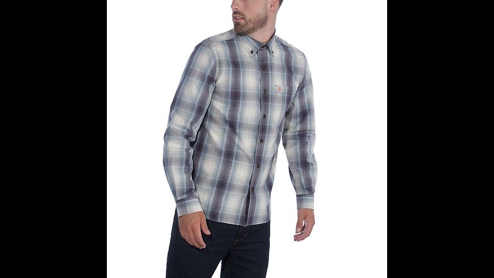 Workwear: Skjorte med striper og lomme. Kommer i to ulike farger.