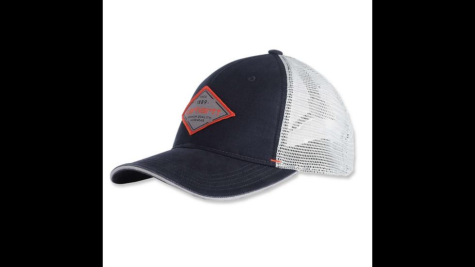 Caps med rombeformet logo. Kommer i to ulike farger.