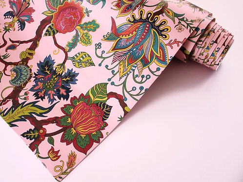 Eden Wallpaper in Rose-Pink