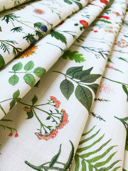 Cotton-Linen in Sonder White