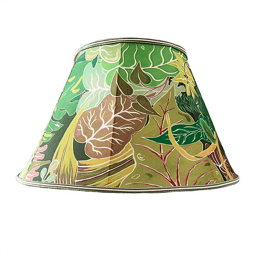 Lula Lampshade in Serendipity Jungle-Green