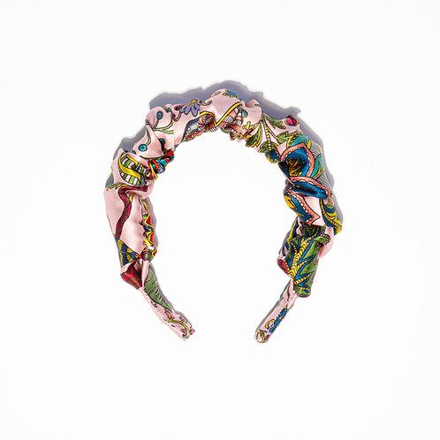 Sienna Scrunchie Hair-band in Eden Rose-Pink