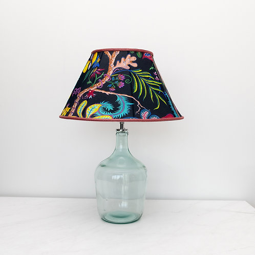 Lula Lampshade in Ophelia French-Navy