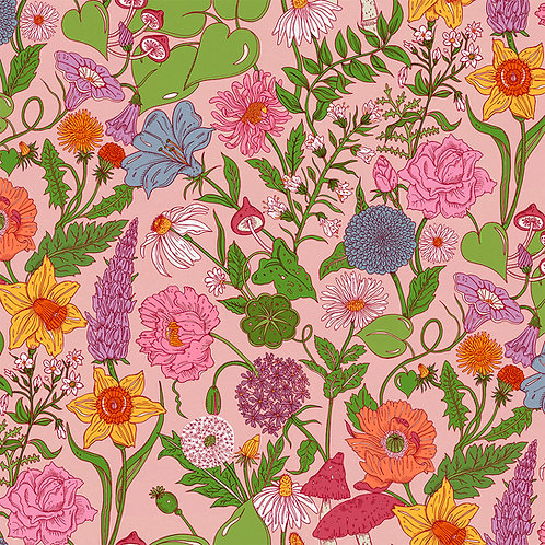 Bloom Flamingo-Pink A3 Sample