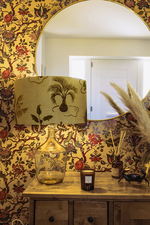 Eden Wallpaper in Mustard-Yellow