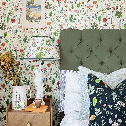 Sonder Wallpaper in Linen-White