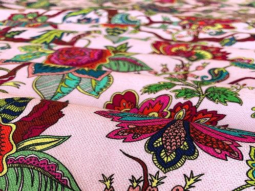 Cotton-Linen in Eden Rose-Pink