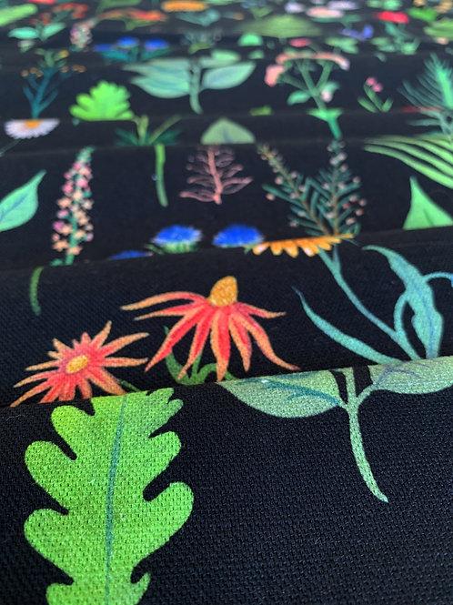 Cotton-Linen in Sonder Black