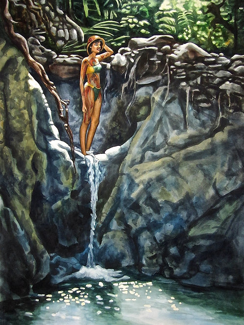 Waterfall Rebirth