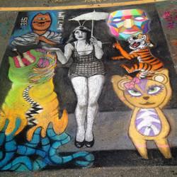 2014Temecula Chalk Painting Festival