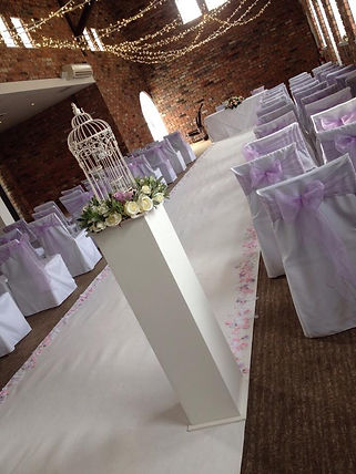 chair cover hire, wedding chair covers, wedding venue decorations, wedding venue dressing