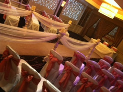 liverpool wedding chair cover hire