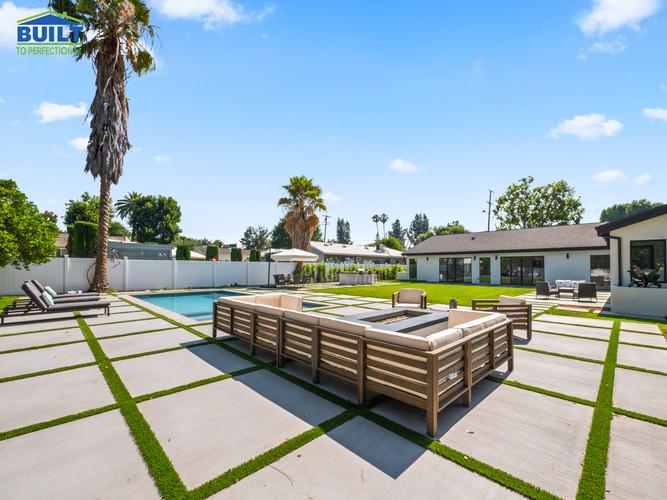 Custom Home Backyard Remodel