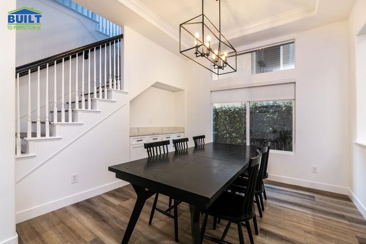Custom Home Dining Space