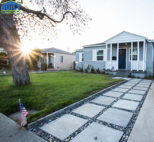 Front Yard Custom Home Remodel