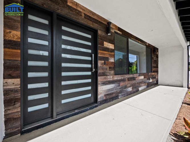 Custom Home Entrance Remodel
