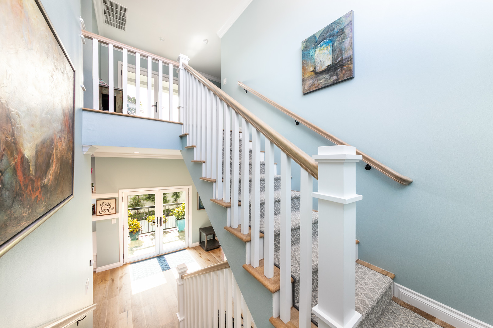 Custom Home Staircase Remodel