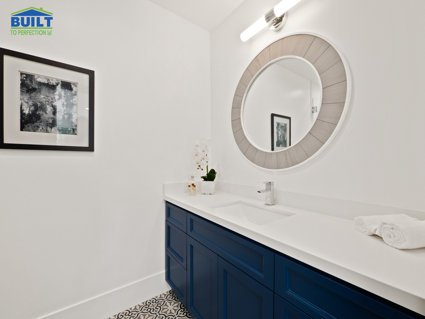 Custom Home Bathroom Remodel