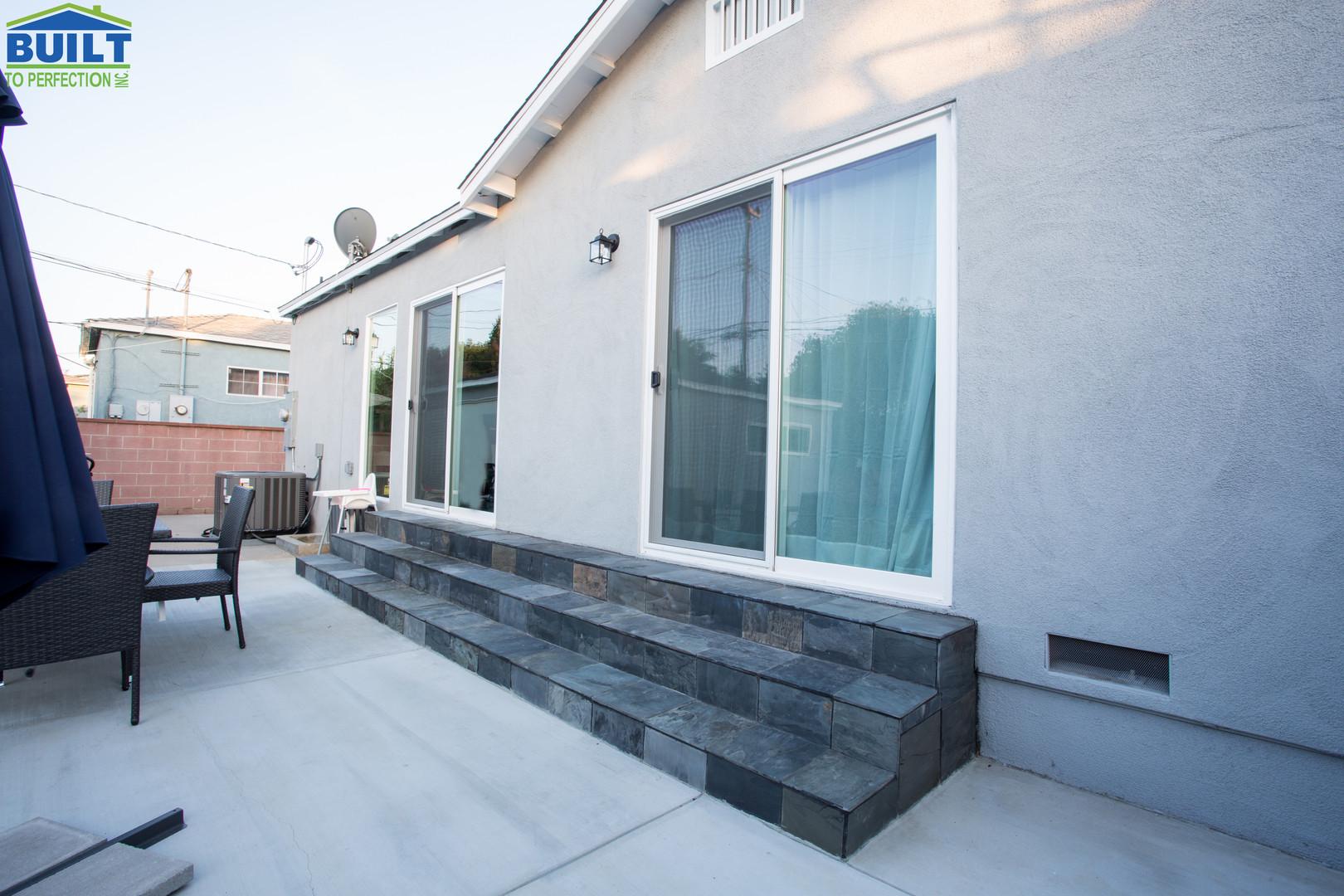 Back Yard Custom Home Remodel
