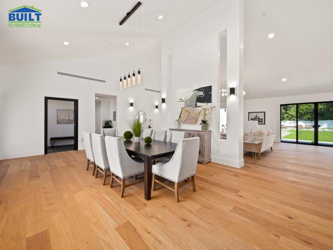 Custom Home Living Space Remodel