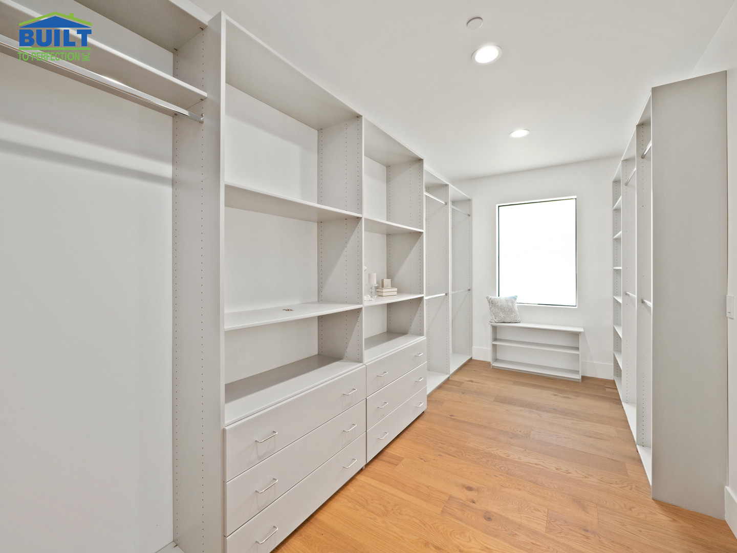 Custom Home Wardrobe Remodel