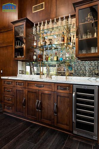Custom Lounge Remodel