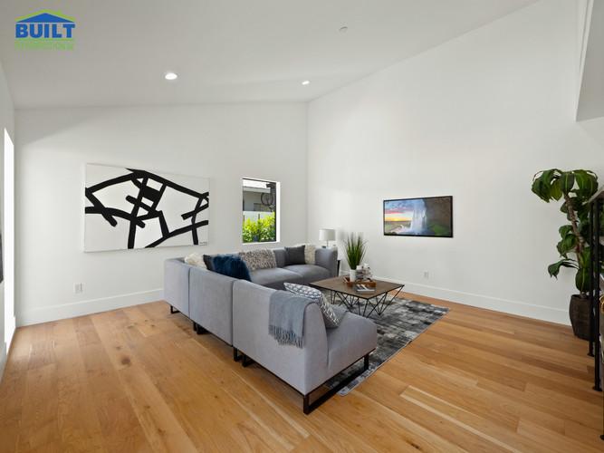 Custom Home Living Room Remodel