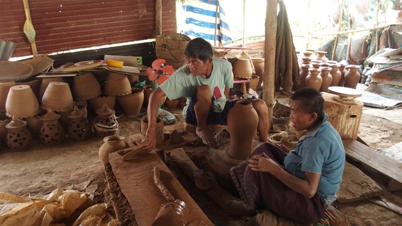 Pottery, Ban Chane, Workshop, Potter village