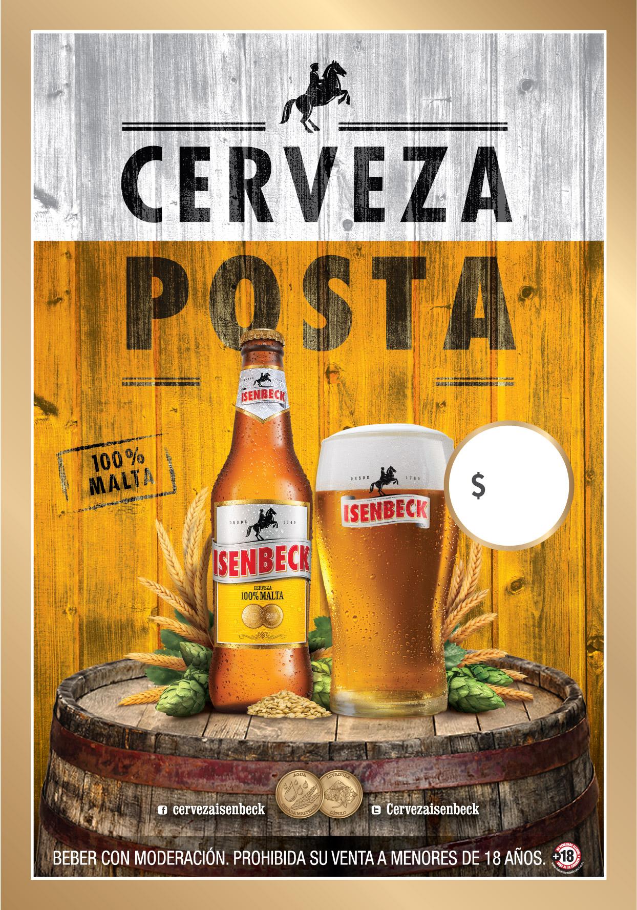 Cerveza posta II (POP)