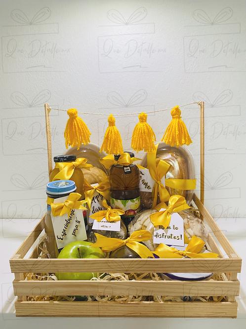Desayuno Doble en color amarillo