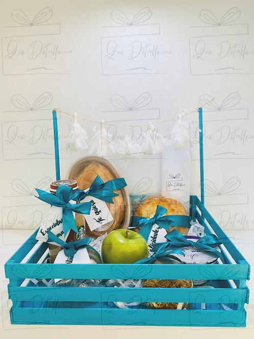 Desayuno Sencillo Azul