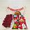 Thumbnail: Desayuno Sencillo con detalle de Rosas (Rojo)