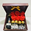 Thumbnail: Caja con Botella Tinto mini de 187 ml y Rosas