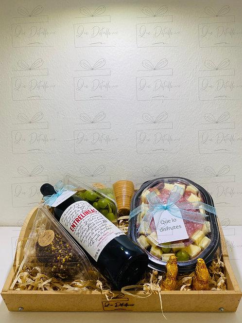 Mesa de Vino y Quesos - Premium