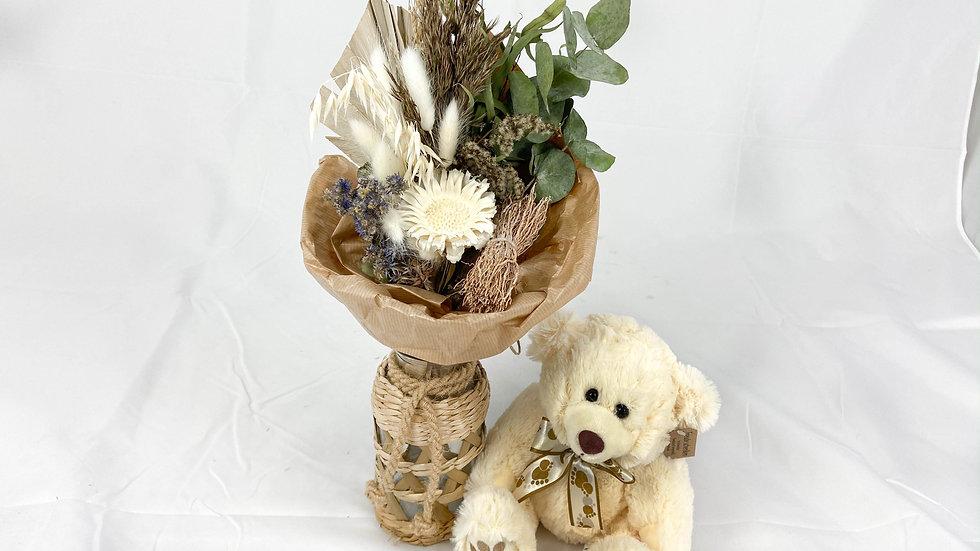 "Dry Bouquet ""Amour Beige"""