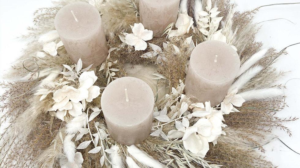 "Adventkranz ""Dried Flower"""