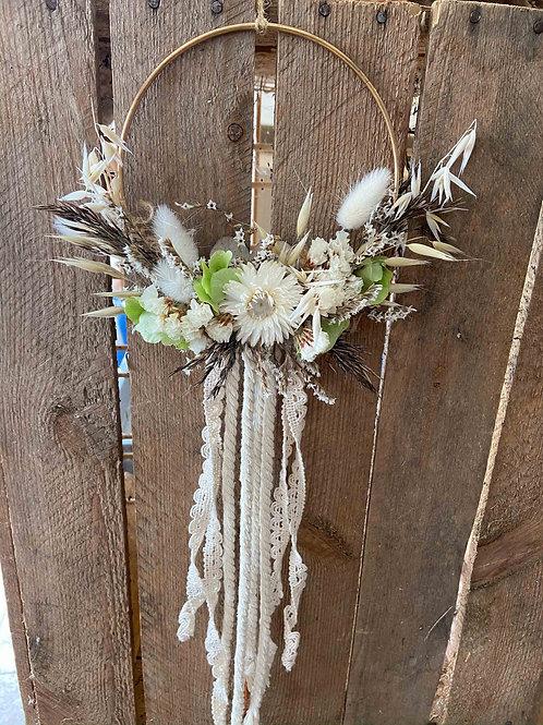 """Flower Hoop """"Indian"""""""