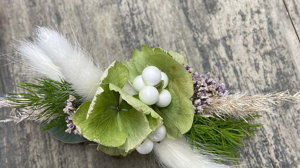 """Flower Hair Clip """"Bibelot Hortensia"""""""