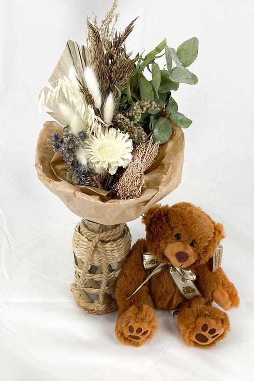 """Dry Bouquet """"Amour Marron"""""""