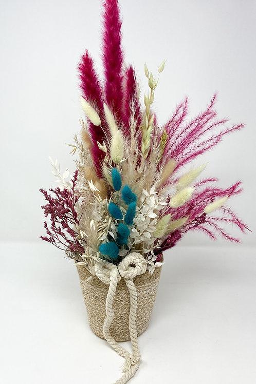 """Dry Bouquet """"Pot Coloré"""""""