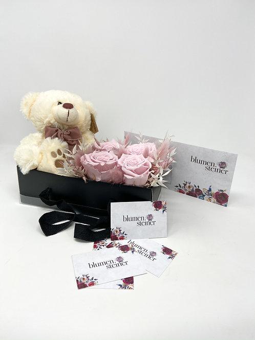 "Valentinstag ""Teddy Box - Alpaka"""