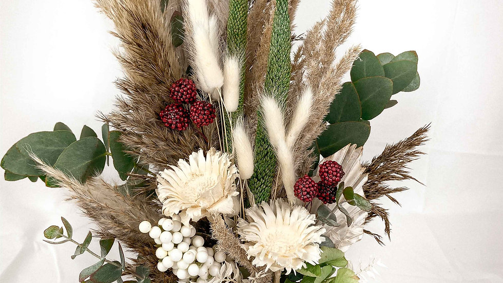"""Dry Bouquet """"Bordeaux"""""""