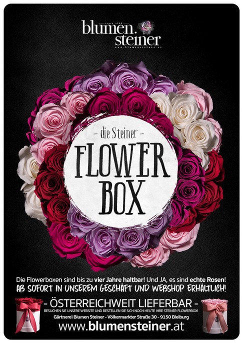 Die Blumen Steiner Flowerbox