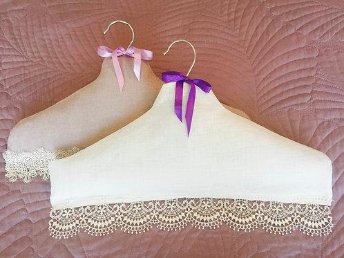 Lavender Linen Hanger