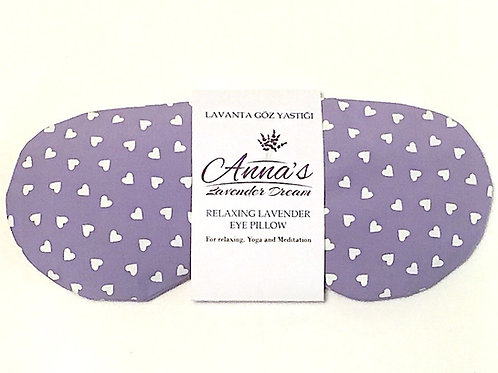 Relaxing Lavender Eye Pillow - Sweethearts